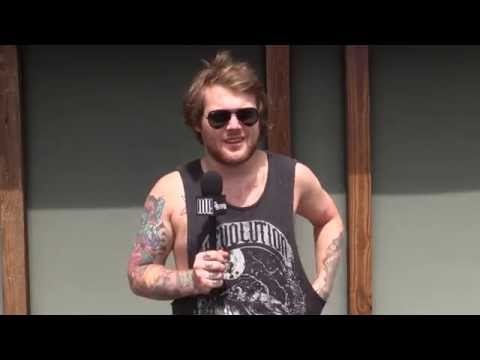 Utg Tv: Mayhem 2014 With Asking Alexandria : Danny Worsnop Interview video