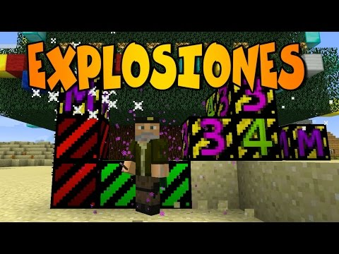 EXPLOSIONES BOOM   BOOM PLUS  Minecraft Mod Review