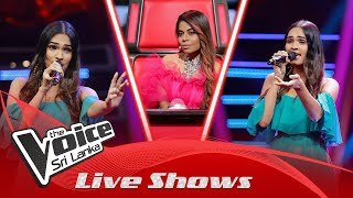 Rashinie Gamage | Dola Re Dola | Live Shows | The Voice Sri Lanka