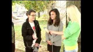 ECOWEEK Prishtina 2014 at RTK (in Serbian language)
