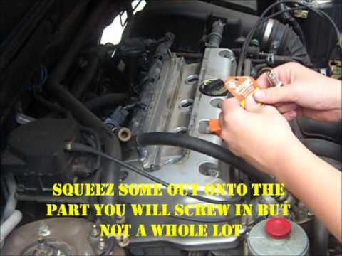 honda crv spark plug change how to save money and do it 1996 ford glow plug relay wiring diagram