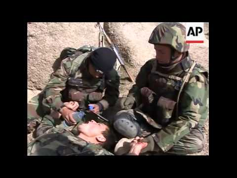 Embed material with US/Afghan patrol on anti-Taliban operation