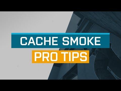 CS:GO - ProTips: Cache - A Catwalk Smoke