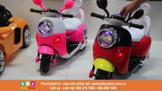 Xe máy điện trẻ em Vespa Mickey (BH 1 năm)