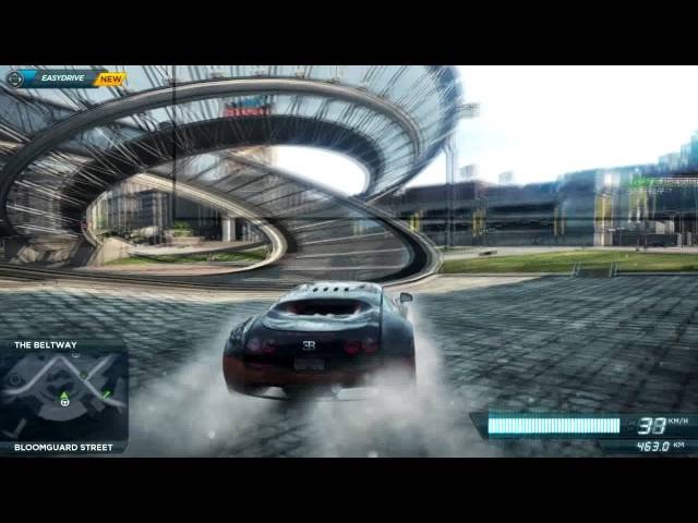 need for speed most wanted 2012 pc bugatti veyron gameplay hd 400 meter jump and more. Black Bedroom Furniture Sets. Home Design Ideas