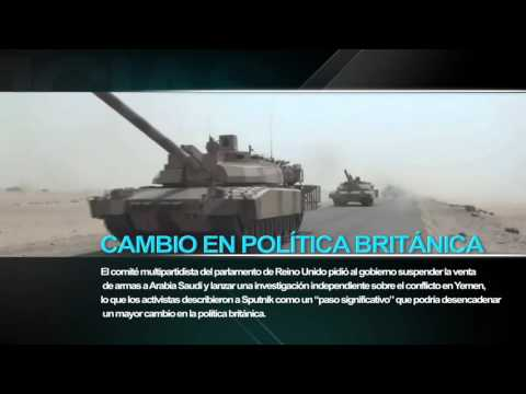 Parlamentarios británicos piden prohibir la exportación de armas a Arabia
