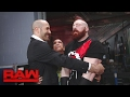 Bayley attempts to mend the rift between Sheamus & Cesaro: Raw, Jan. 30, 2017