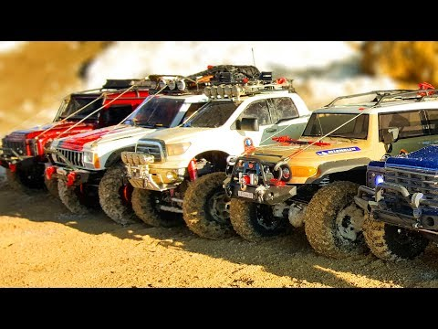 RC Cars OFF Road Snow Extreme 4x4 – Traxxas TRX4, Axial SCX10 ii, Tamiya, HSP — RC Extreme Pictures