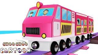 Wooden toy set - Car cartoon -Toy train cartoon - Cartoon  Cartoon - Kids Videos for Kids - Thomas