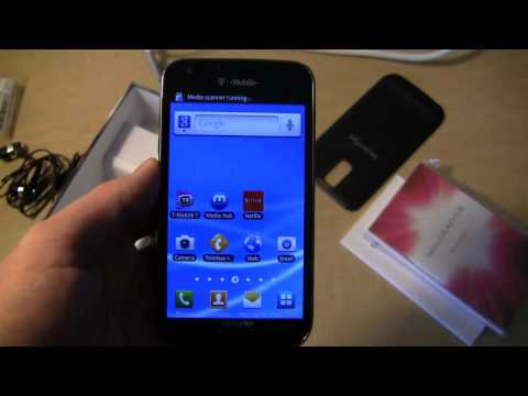 T-Mobile Samsung Galaxy S II Unboxing