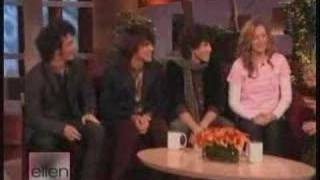 Jonas Brothers on The Ellen Show