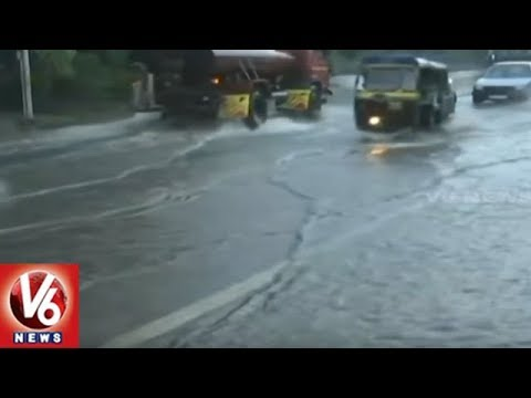 Weather Update: Heavy Rains Lashes North States In India | V6 News