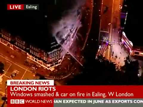 London Riots: 9 August 2011 - Part 1