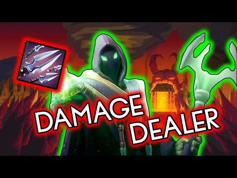 Dota 2 Tricks: Rubick the Damage Dealer!