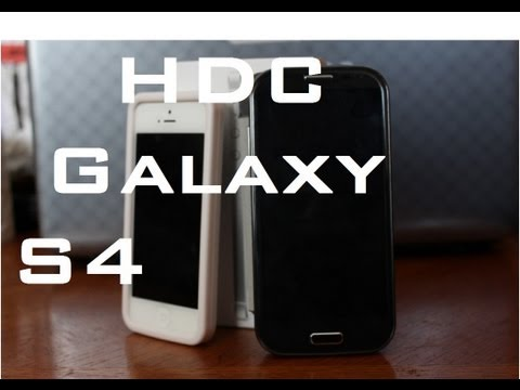 HDC Galaxy S4 a Samsung Galaxy S4 Clone Unboxing with a Quad Core MT6589 Processor