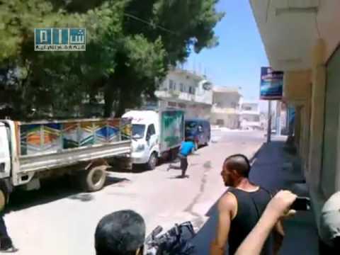 ירי חי על מפגינים בסוריה