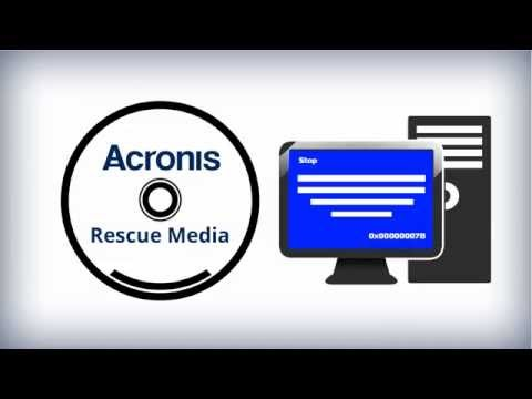 How to create Acronis bootable media