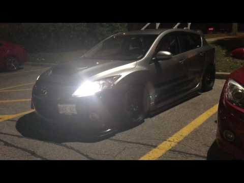Mazdaspeed3 - snap crackle pop!