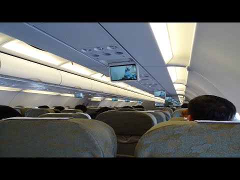 Vietnam Airlines (Economy Class) : VN385 Haneda to Hanoi