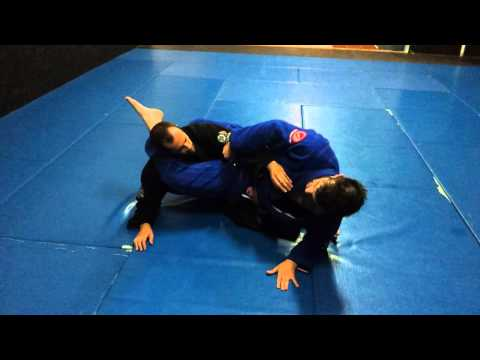 Sweep to Submission: Ankle grab sweep from closed guard to triangle Image 1