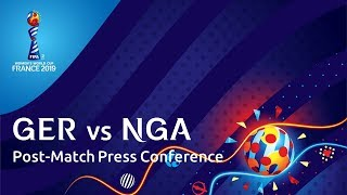 GER v. NGA : Post-Match Press Conference