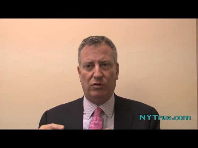 NYTrue.com Interview with Bill de Blasio