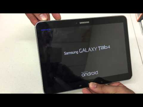 How to Hard Reset The Samsung Galaxy Tab 4 10.1 Android 4.4 Remove Password