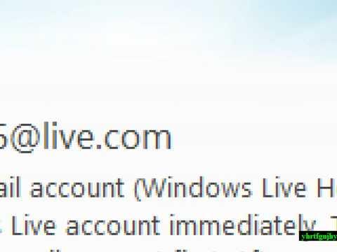how to delete windows live messenger account