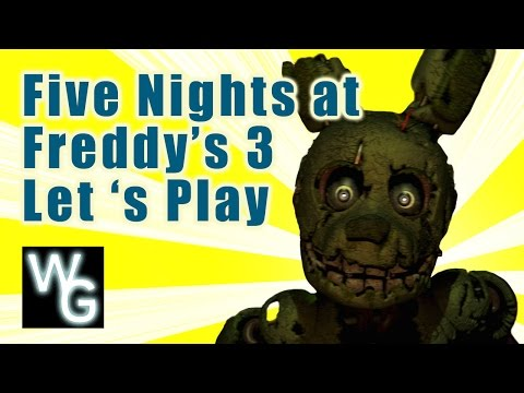 Five Nights at Freddys 3 Lets Play