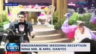 Saksi: Enggrandeng wedding reception nina Mr. & Mrs. Dantes