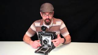 Handheld 4x5 Large Format Film Photography with Speed Graphic Camera-How To
