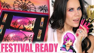 BH COSMETICS FESTIVAL MAKEUP TESTED ... I'm Shocked!