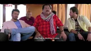 Bangla Movie Funny Scene _ Shakib Khan and Kharaj Mukherjee