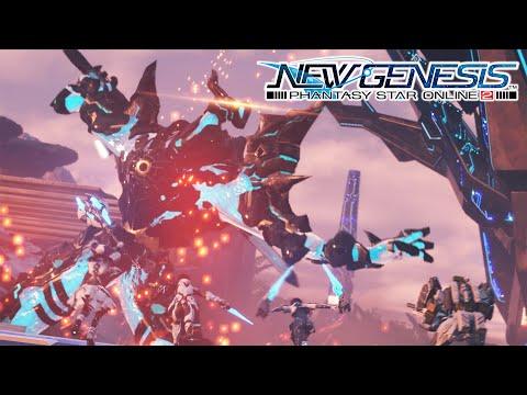 [4K] Latest Phantasy Star Online 2: New Genesis Teaser Trailer