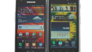 Motorola DROID RAZR vs Samsung Galaxy S II
