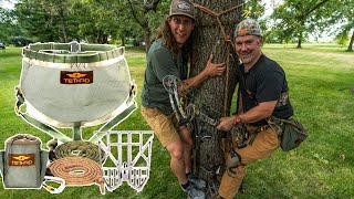 HOW TO HUNT FROM A TREE SADDLE! - PART 1