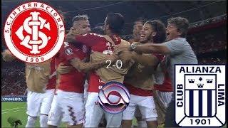 Gols - INTER 2 x 0 Alianza Lima - Libertadores 2019 - RBS TV HD