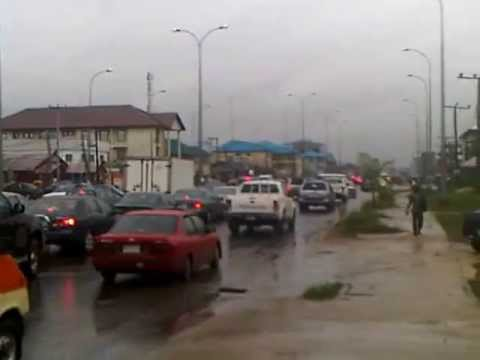 Typical Rainy Day in Port Harcourt