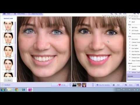 Facil Programa Para Retocar y Maquillar Fotos Cara En Un Clic