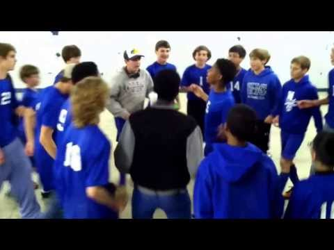 West Laurens Middle School Boys Soccer Team doing the Nae Nae