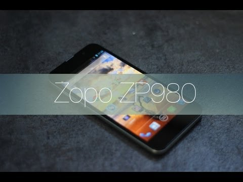 Videoreview Android chino: Zopo ZP980