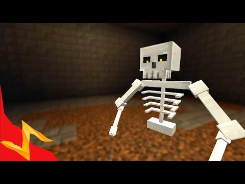 Skeleton Boss In Minecraft video