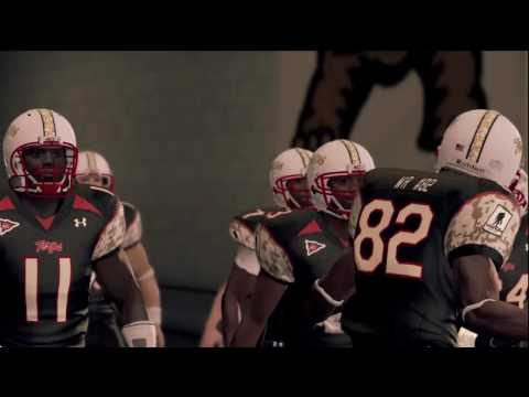 NCAA Football 2011 Maryland Terrapins vs. Virginia Cavaliers Introduction Video