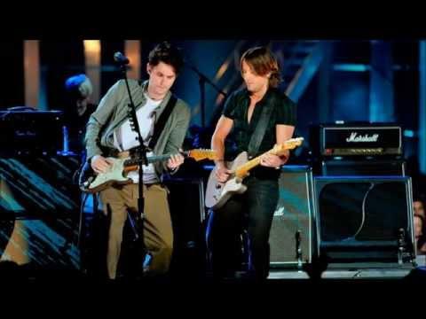 John Mayer & Keith Urban - Hit the Ground Runnin' (CMT Music Awards 2010)