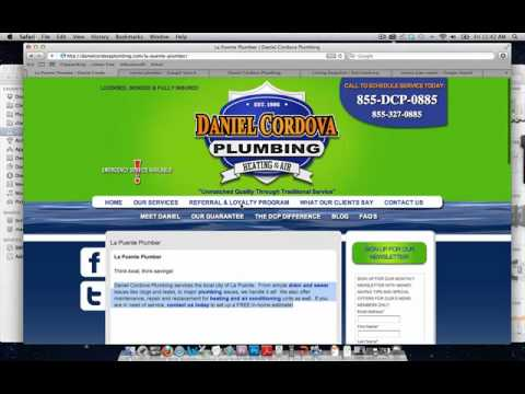 Plumber SEO Strategy Review - Internet Marketing