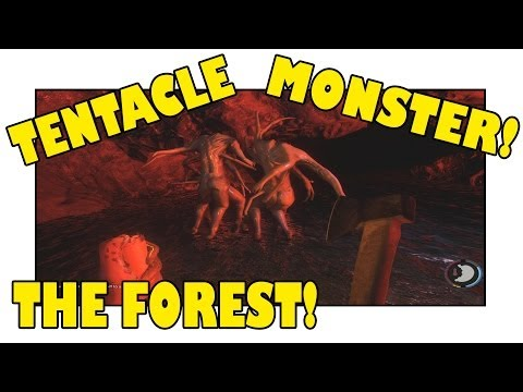 TENTACLE MONSTER! - The Forest