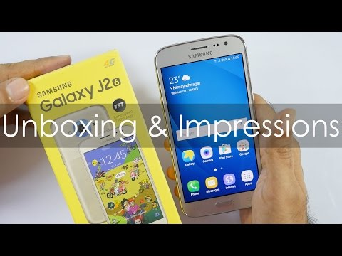 Samsung Galaxy J2 (2016) Unboxing & Impressions Overpriced?