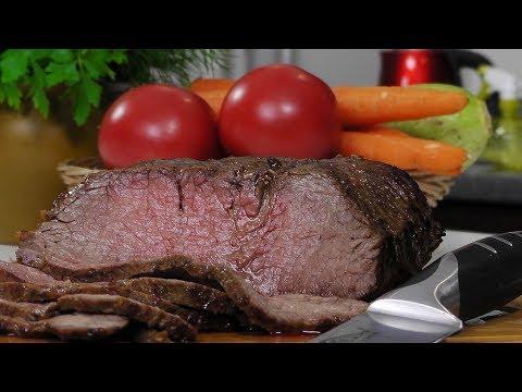 Говядина в духовке видео рецепт