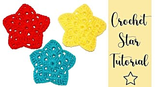 Crochet Star Ornament For Beginners