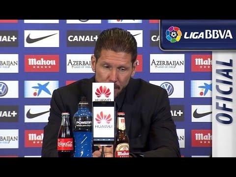 Rueda de Prensa de Simeone tras el Atlético de Madrid (2-2) Real Madrid - HD